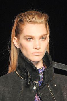 FALL 2013 HAIR TREND REPORT  Sleek Back