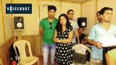 Ranjit ji with famous Bhojpuri singer indu Somali.