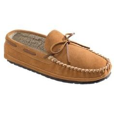 a5826a5fedb Minnetonka Moccasin Casey Suede Moccasin Slippers for Men