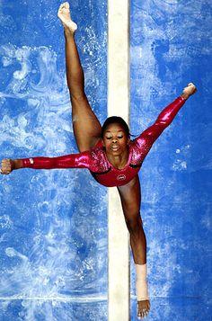 "Gabby Douglas, 16, ""The Flying Squirrel,"" Olympics 2012 in the USA Gymnastics Teams"
