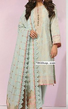 Pakistani Dresses Online Shopping, Online Dress Shopping, Fashion Pants, Fashion Dresses, Pakistani Lawn Suits, Add Sleeves, Lawn Fabric, Shalwar Kameez, Clothes For Sale