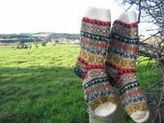 Ravelry: blodeuedd's Land Girl Socks