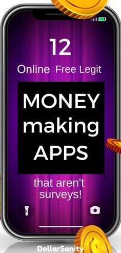 Money making apps that aren't surveys to make money on autopilot. Make Money Online, How To Make Money, Passive Income Streams, Cooking On A Budget, Personal Finance, Budgeting, How To Remove, App, Life