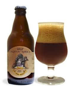 Cerveja Ogre Beer Caldo de Bituca, estilo Rauchbier, produzida por Ogre Beer, Brasil. 6.5% ABV de álcool.