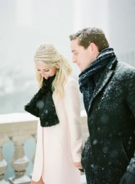 I was perfectly happy bidding farewell to all things winter for the season. But thenKT Merrysent along this snowy Chicago e-sesh and I suddenly changed my tune. Complete with flurries and romance, cozy fashion and one adorable fur baby, this engagement is session is everything I love all in one pretty place. Have a peek […]