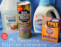 How to Spring Clean You Kitchen - Tips on cleaning your toaster, microwave, frig, stove, sink & drain...all the usual suspects.  :)
