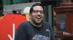 Sal vulcano impractical jokers ♡ Love his glasses! Too hot!!!!!