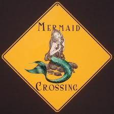 mermaid crossing sign~~~