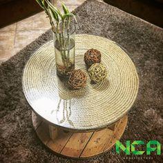 """Quinto paso: ¡Nueva entrada en el Blog! """"Upcycling"""": Proceso de diseño de mesa con carrete de cable reciclado. Visita: http://ninikeceliatala.com/2017/04/14/upcycling-proceso-de-diseno-de-mesa-con-carrete-reciclado"""