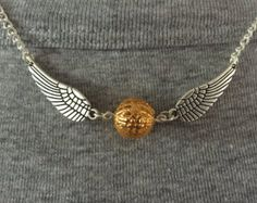 Golden Snitch Inspired Harry Potter Fan by ClearlyCraftyShop