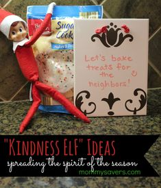 An elf I might actually WANT in our home! Giving the messy, tattle-telling elves some purpose! Kindness Elves Tradition: An Elf on the Shelf Alternative
