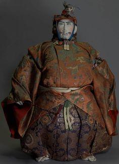 "Tiger Kai Takeda Shingen (click image for article) // via World of doll creation ""Jusaburo"" Collection // photo by Toshikazu Tsujimura"