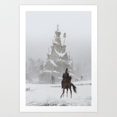 where the ancient pagan temple had once stood Art Print by Jakub Rozalski - X-Small Artwork Prints, Canvas Art Prints, Fine Art Prints, Werewolf Art, Affordable Art, Buy Frames, Pagan, Temple, Gallery Wall