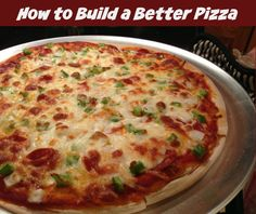 Tasty (and healthy!) #pizza recipe! Easy to make, too!