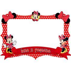 Minnie Mouse Kişiye Özel Çerçeve