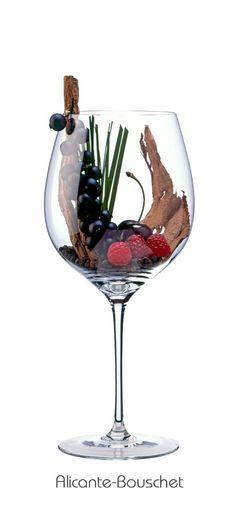 Alicante Bouschet or Alicante Henri Bouschet (red) Alicante, Wine Vine, Wine Flavors, Wine Varietals, Wine By The Glass, Faber, Wine Education, Types Of Wine, Wine Cheese