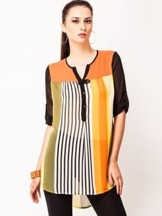 d6a92e1926c AND Comfort Top With Asymmetric Hem from KOOVS.COM online in india