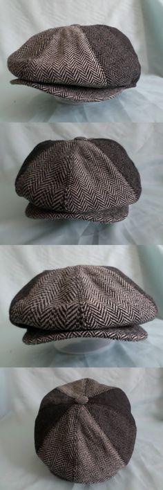 33b3bce9 Shelby - Walrus Hat Wool Blend 8 Panel Newsboy Cap in 2019   Peaky Blinder  Style Hats