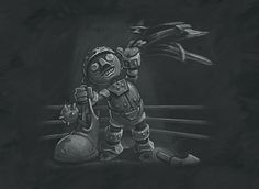 Theme: Blingtron's Beauteous Brawl