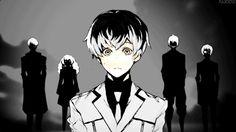 (gif) Urie, Saiko, Sasaki, Shirazu, and Mutsuki     Tokyo Ghoul: Re
