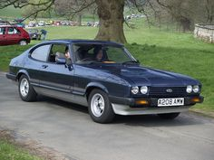 Ford Capri Classic Cars - 1984  Like, repin, share, Thanks!