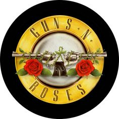 Guns n 'Roses Rock Music Badges, Patches & Stickers Guns N Roses, Velvet Revolver, Band Logos, Rose Wallpaper, Back Patch, Band Merch, Hard Rock, Rock And Roll, Easy