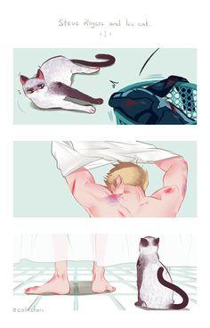 """Steve & Cat """"shower"""" pt1"""