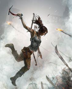 Tomb Raider: Definitive Edition Art •Crystal Dynamics' Brenoch Adams