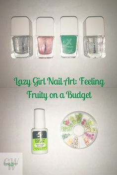 I love nail art, but I'm also broke as fuck and lazy.