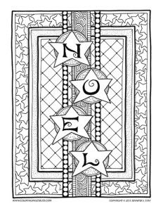 New Christmas Coloring Pages Adult PagesFree