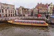 Hotel Ajax D.R. Amsterdam  Description: Hotel Ajax is een gezellig hotel en bevindt zich in het hartje van Amsterdam tussen de twee meest bezochte plekken van Amsterdam; het Rembrandtplein en het Damplein en ligt bovendien vlak achter de bekendste winkelstraat van Amsterdam de Kalverstraat. Alle kamers hebben een eigen douche en toilet binnen in de kamer. - In het hotel is geen lift aanwezig. - In de gemeenschappelijke ruimtes loopt de huiskat van het hotel rond. - Bij het inchecken wordt er…
