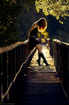 Good relationships are like bridges.  You cross over, feeling supported and enjoying the view.