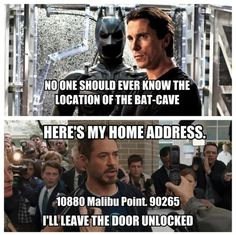 Yeah, and look what happened. Tony, Pepper and Maya almost died, his house was destroyed, he was severely injured and Pepper was kidnapped. Good job, Tony.