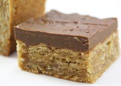 I'm back, I think…and Oatmeal Peanut Butter Bars recipe – Choosing Simplicity Peanut Butter Desserts, Peanut Butter Recipes, Cookie Desserts, Just Desserts, Cookie Recipes, Delicious Desserts, Dessert Recipes, Yummy Food, Tasty