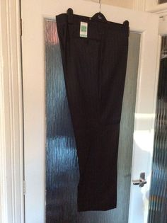 M&S COLLEZIONE inspired by ITALY WOOL &CASHMERE trousers W42  INside LEG 31 BNWT