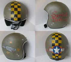 Distressed Helmets