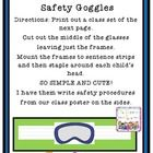 This file is a 6 page download of directions for making my Science Safety Goggles Craftivity. You will get a short video with directions from me and also a classroom safety procedure printable to do with your class. You will also get the template I use for the goggles. I also have included Candy Heart templates if you are using it with my Candy Heart Science.  FREE!