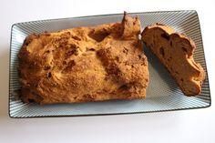 kwarkbrood recept mager - – 150 gram havermoutmeel – 100 gram boekweitmeel – 275 gram magere kwark – 165 gram banaan (1 of 1,5 banaan) – 1 ei – 1 tl kaneel – 1 tl bakpoeder – 1 tl zout