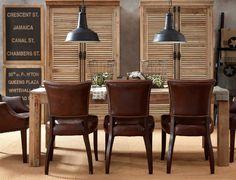 38 Elegant Masculine Dining Room Designs In Various Styles | DigsDigs