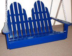 Adirondack Chair Swing