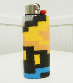 Final Fantasy Black Mage Perler Bead LIGHTER CASE by LighterCases, $10.00 ©