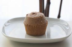 Peanut butter cupcake by Kev - yum!