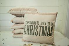 """Like Christmas"" Pillow | The Magnolia Market"