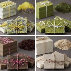 These Ultra-Moisturizing Homemade Soaps Make Amazing Gifts – DIY Geschenke selber machen – Soap Diy Homemade Soap Recipes, Homemade Gifts, Diy Gifts, Homemade Soap Bars, Soap Making Recipes, Craft Gifts, Easy Recipes, Beeswax Recipes, Homemade Body Butter