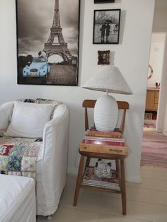 love chairs as side tables