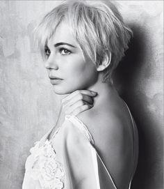 love her hair short...