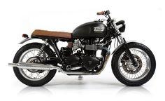 | David Beckham Into the Unknown | David Beckham | Custom Bonneville T100 | Triumph | motorcycle