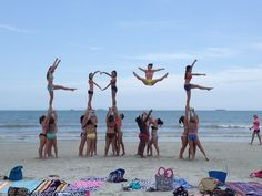 cheer stunts - Google Search
