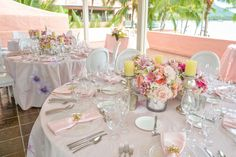 Pretty in Pink Wedding theme at The Royal Hawaiian, a Luxury Collection Resort in Waikiki.