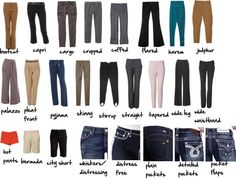 """pants glossary"" by imogenl on Polyvore"